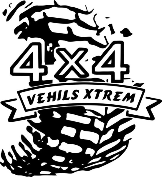 4×4 Sticker Free Vector