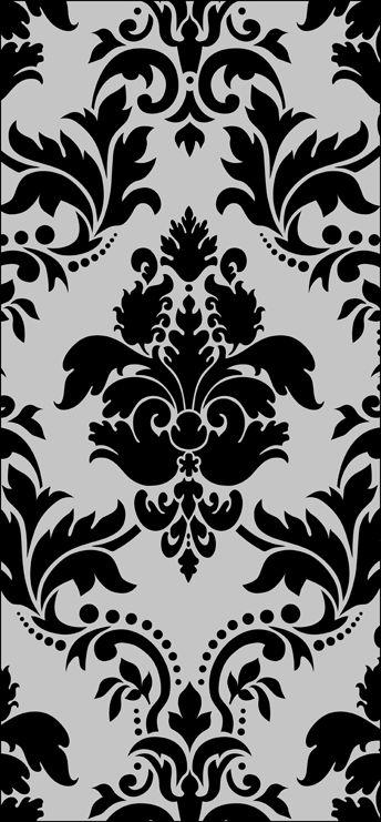 Stencil design dxf File