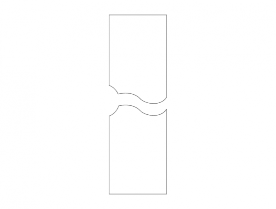 Mdf Door Design 12 dxf File