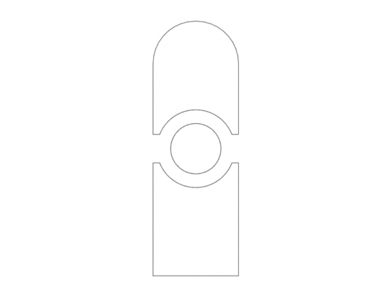 Mdf Door Design 9 dxf File