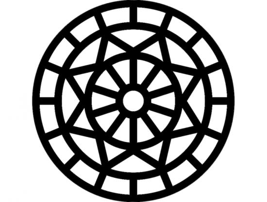 Mandala 6 dxf File