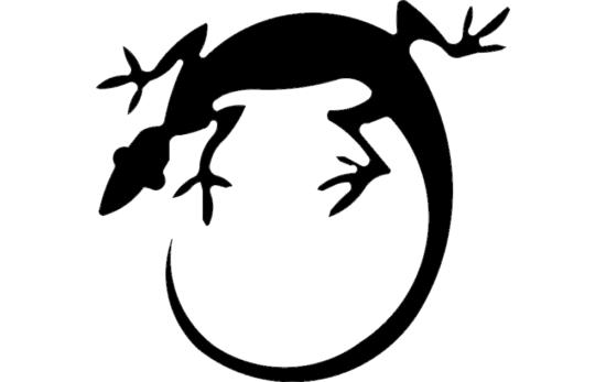 Lizard Reverse Cad dxf File