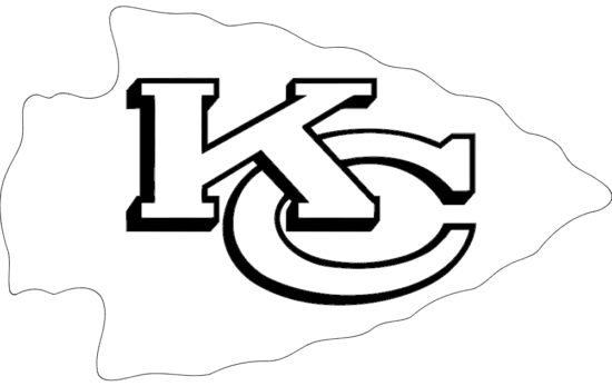 2000px kansas City Chiefs Logo Svg dxf File