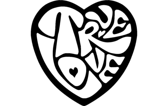 Heart Design dxf File