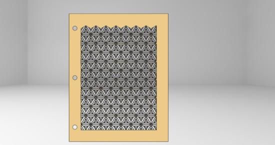 Frame Art DXF file