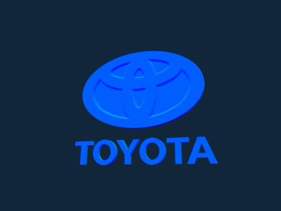 Toyota Logo stl file