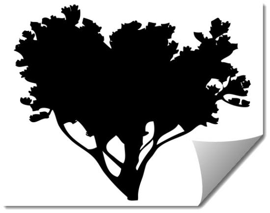 Tree 8 dxf file