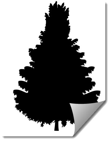 Tree 6 dxf file