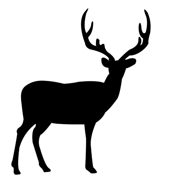 Deer Standing dxf file