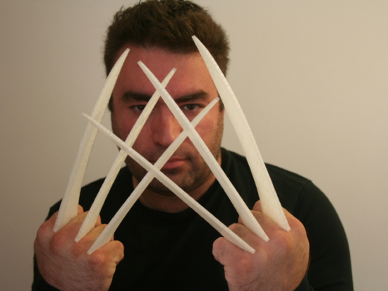 Wolverine Claws dxf