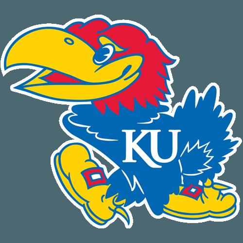 Kansas Jayhawks logo dxf