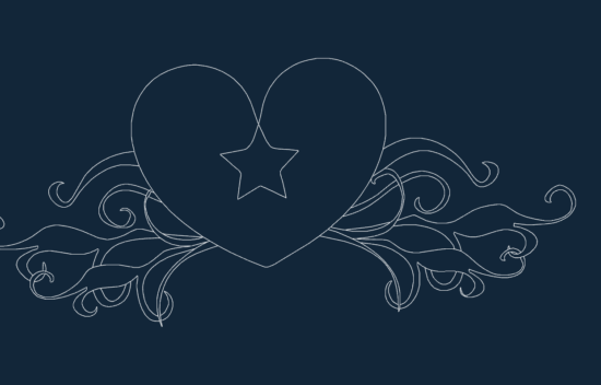 Heart Star.dxf