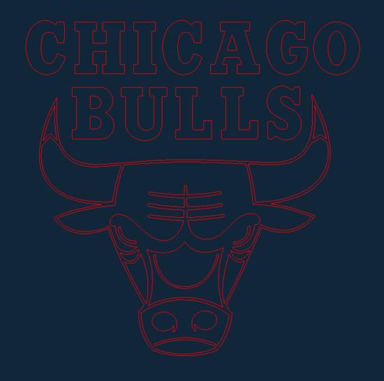 Chicago Bulls.dxf