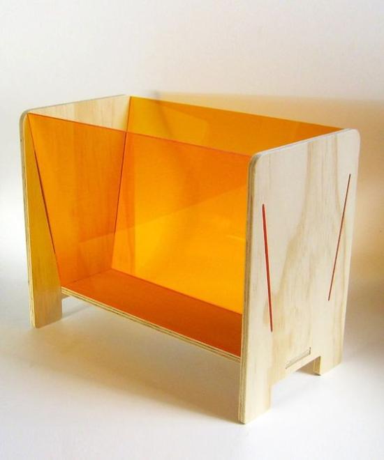 Laser Cut Wood Acrylic Magazine Display Rack Free Vector