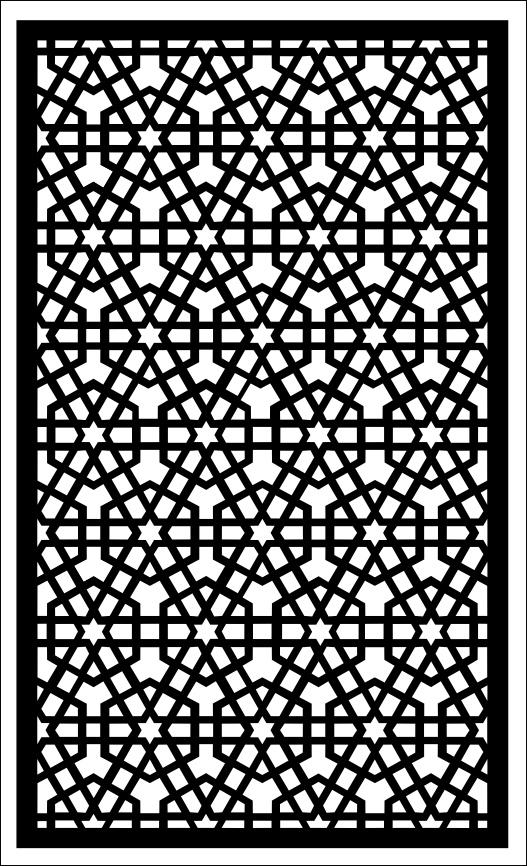 Geometric Screen Pattern SVG File