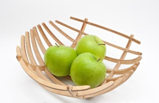 Fruit Bowl Laser Cut SVG File