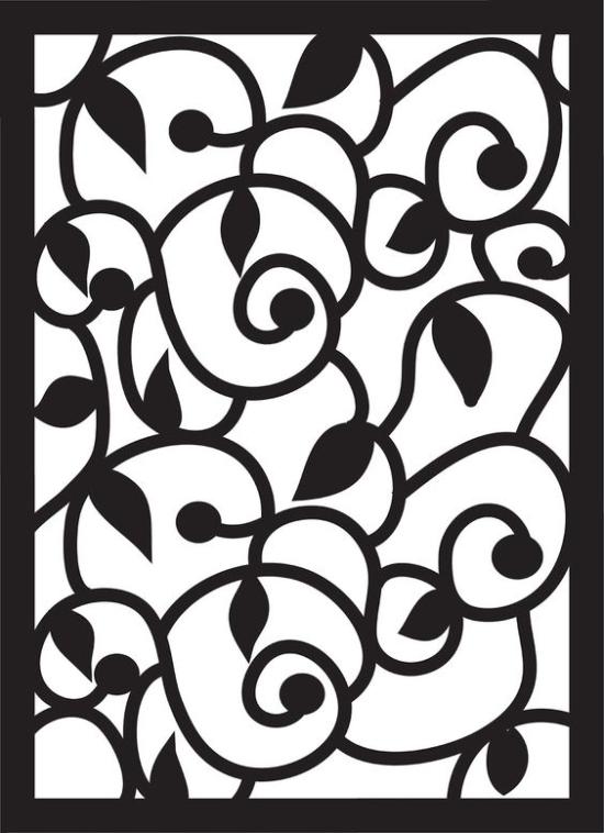 Flower Pattern SVG File