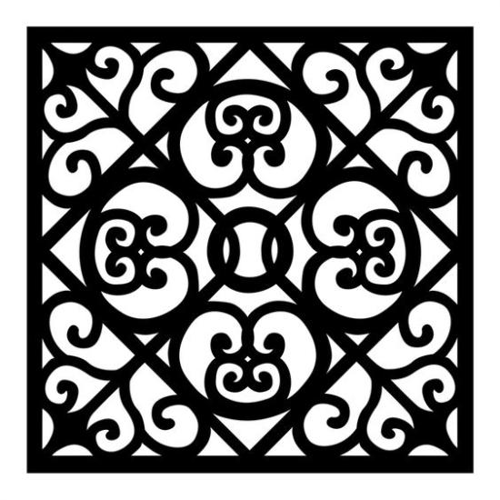Jali Pattern SVG File