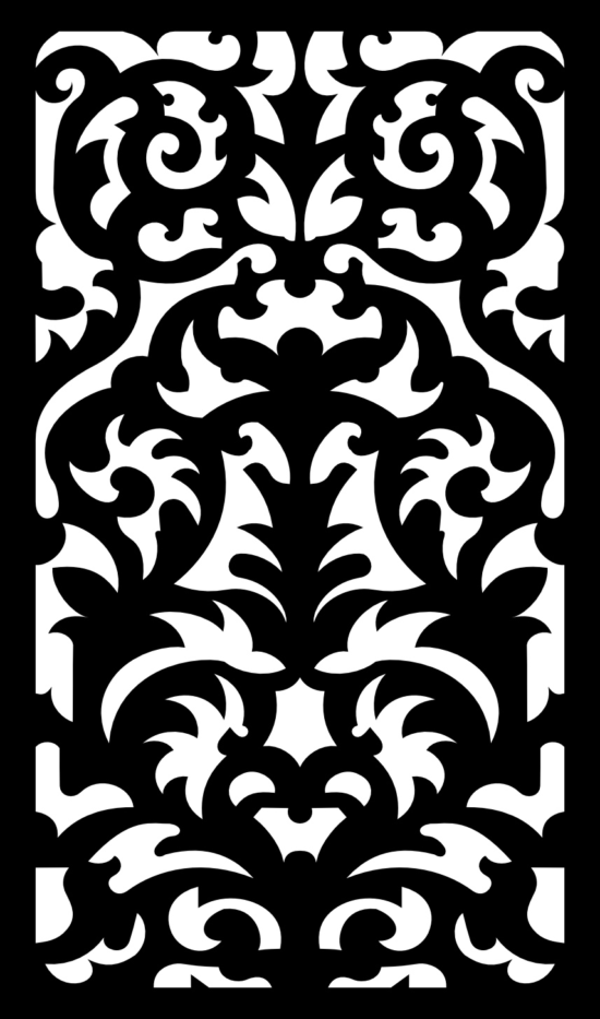Floral Pattern SVG File