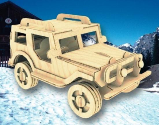 Utility Truck 4 75mm Laser Cut PDF File