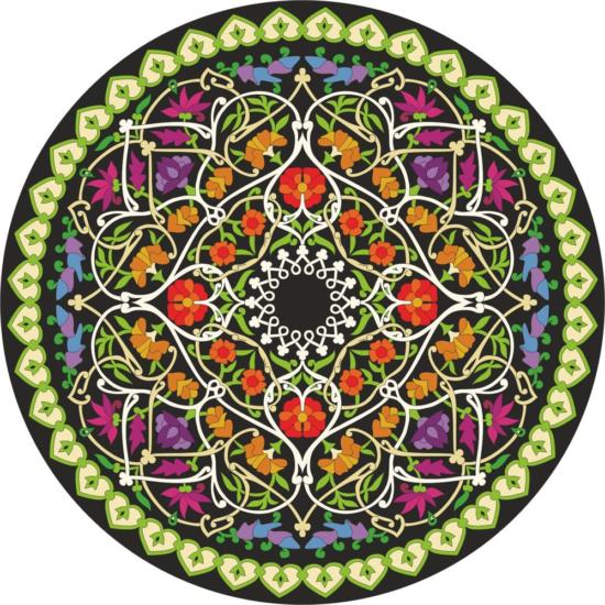Mandala Vector Art Free Vector